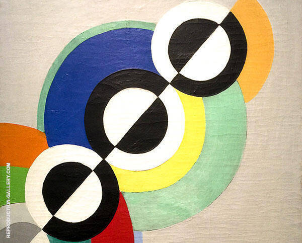 Rythmes 1934 Painting By Robert Delaunay - Reproduction Gallery