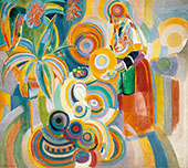 The Large Portuguese Woman By Robert Delaunay