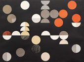 Composition with Circles and Semi Circles 1938 By Sophie Taeuber-Arp