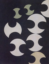 Composition with Curves 1935 By Sophie Taeuber-Arp