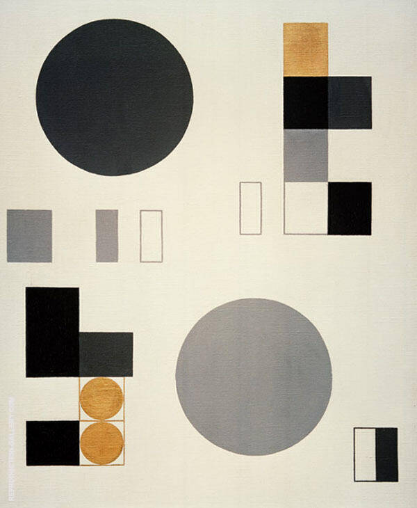 Composition with Rectangles By Sophe Taeuber-Arp