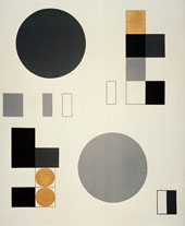 Composition with Rectangles By Sophie Taeuber-Arp