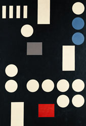 Composition with Rectangles and Circles By Sophe Taeuber-Arp