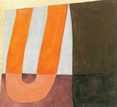 Composition with U Form 1918 By Sophie Taeuber-Arp