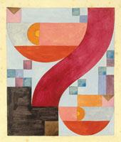 Diverse Elements 1918 By Sophe Taeuber-Arp