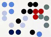 Dynamic Circles 1934 By Sophe Taeuber-Arp