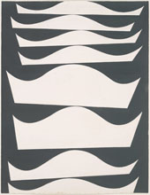Echelonnement Desaxe 1934 By Sophe Taeuber-Arp