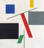 Equilibre 1932 By Sophie Taeuber-Arp