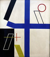 Four Spaces 1932 By Sophe Taeuber-Arp