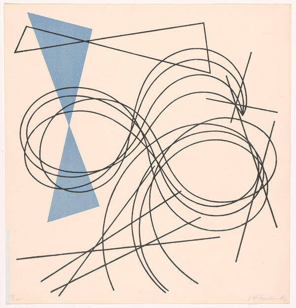 Plate 5 By Sophe Taeuber-Arp