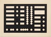 Schematic Composition By Sophie Taeuber-Arp