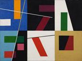 Six Spaces Distinct By Sophe Taeuber-Arp