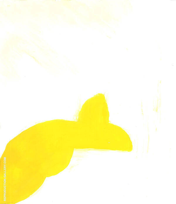 Yellow Form By Sophe Taeuber-Arp