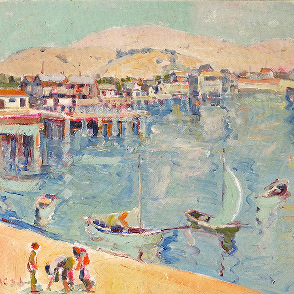 Oil Painting Reproductions of Selden Connor Gile