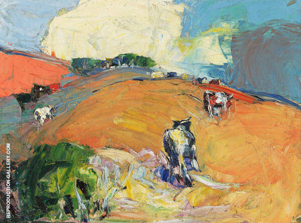 Cows and Pasture By Selden Connor Gile