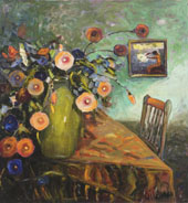 Gile's Table and Chair 1940 By Selden Connor Gile