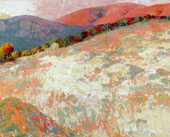 Hay Field Sunset 1928 By Selden Connor Gile