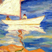Sailboatd 1928 By Selden Connor Gile
