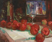 Still Life with Apples By Selden Connor Gile