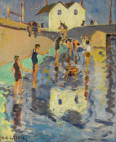The Bathers 1929 By Selden Connor Gile