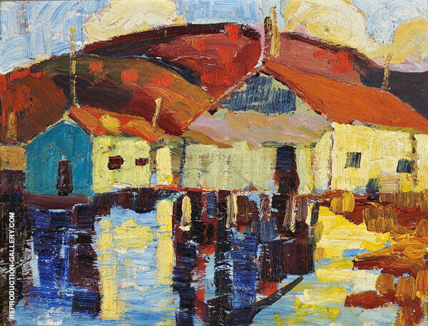 Wharf Buildings By Selden Connor Gile