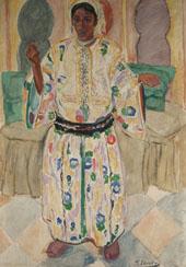 Moorish Woman By Francisco Iturino