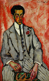 Portrait of an Unknown Man By Ilya Mashkov