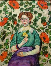 Portrait of a Woman II By Ilya Mashkov