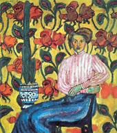 Portrait of VP Vinogradova By Ilya Mashkov