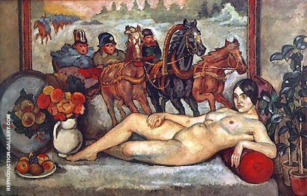 Russian Venus 1914 By Ilya Mashkov | Oil Painting Replica On Canvas