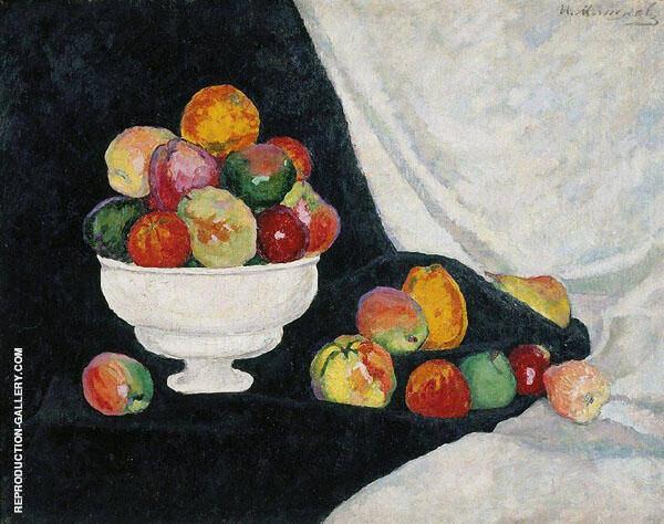 Still Life with Apples By Ilya Mashkov | Oil Painting Replica On Canvas