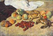 Still Life with Сrabs By Ilya Mashkov