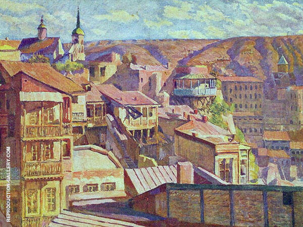 Tbilisi Painting By Ilya Mashkov - Reproduction Gallery