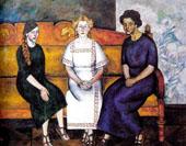 Three Sisters 1911 By Ilya Mashkov