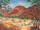 Mt Whitney Alabama Foothills By Rinaldo Cuneo