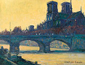 Notre Dame By Rinaldo Cuneo