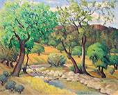 Spring Trees By Rinaldo Cuneo