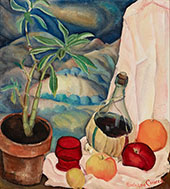 The Wine Bottle By Rinaldo Cuneo