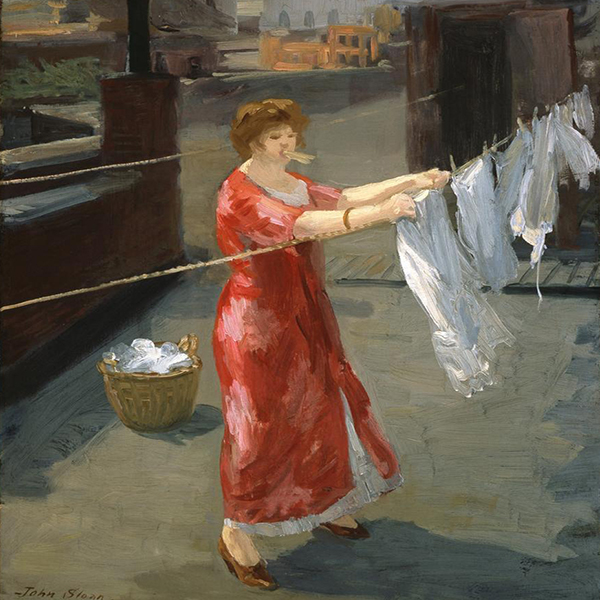 Oil Painting Reproductions of John Sloan