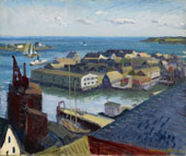 Fishing Port Gloucester 1916 By John Sloan