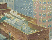 From The Rooftops By John Sloan