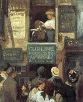 Hairdresser's Window 1907 By John Sloan