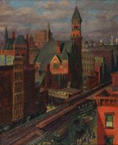Jefferson Market By John Sloan