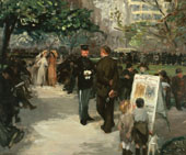 Recruiting in Union Square By John Sloan