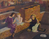 Roof Chats By John Sloan