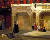 The Carmine Theater By John Sloan