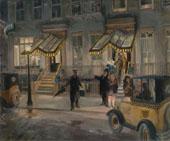 The Lafayette 1927 By John Sloan