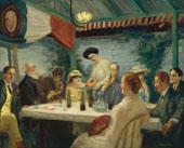 Yeats at Petitpas 1910 By John Sloan