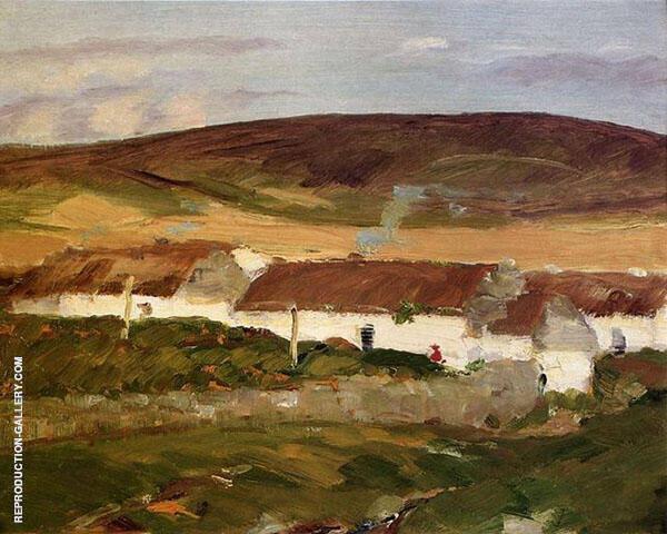 An Irish Cottage By Robert Henri