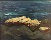 Barnacles on Rocks 1903 By Robert Henri